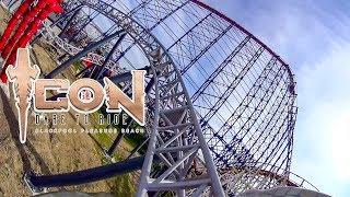 Icon Roller Coaster Front Seat POV Blackpool Pleasure Beach New 2018