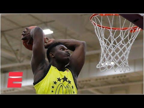 Zion Williamson's contest-winning dunks from the Powerade Jam Fest | ESPN