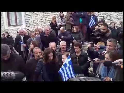 Μνημόσυνο Κατσίφα: Ένταση στα σύνορα — Οδύνη στους Βουλιαράτες (βίντεο)