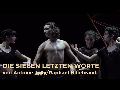 DIE SIEBEN LETZTEN WORTE von Antoine Jully/ Raphael Hillebrand - Premiere 07.04.2018