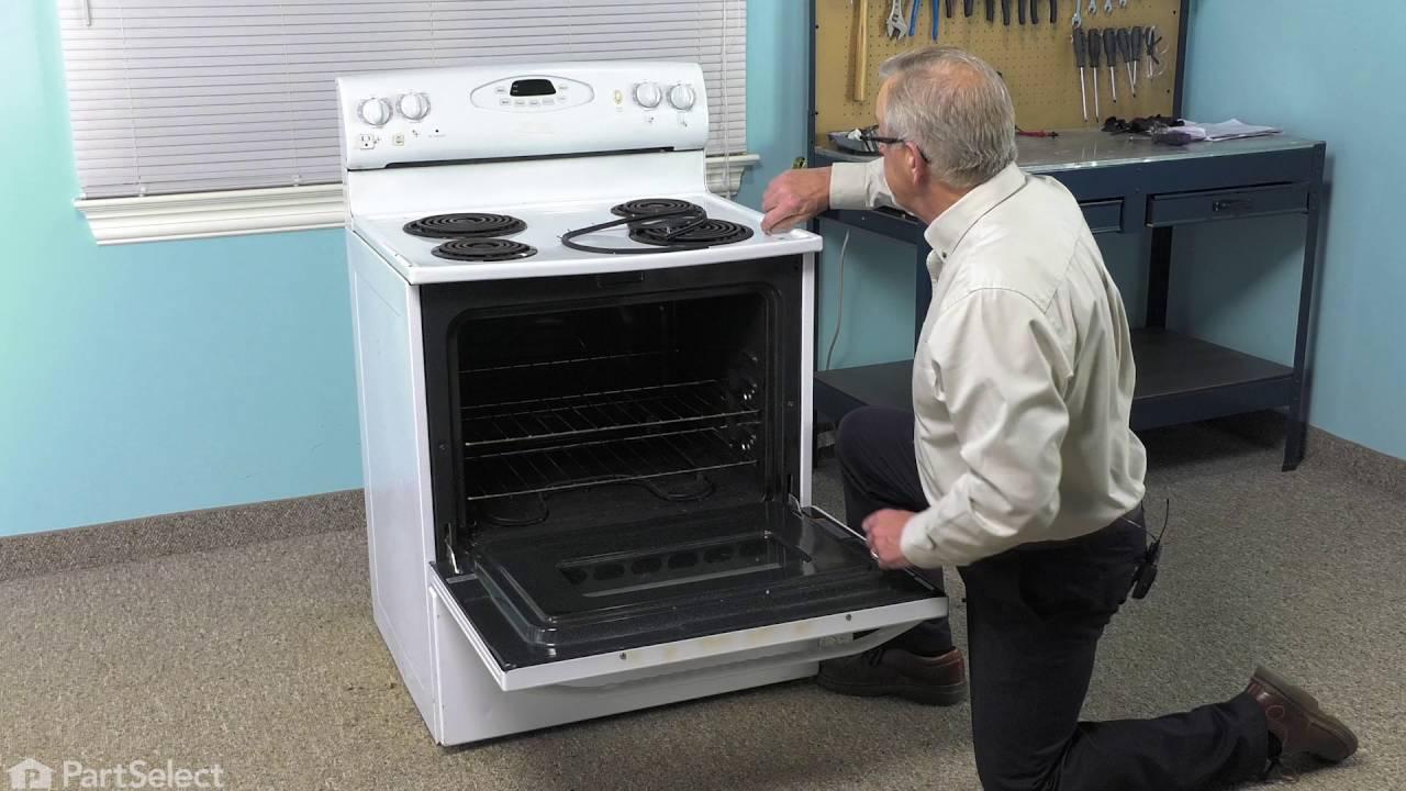 Replacing your Magic Chef Range Door Seal