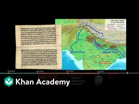 The Vedic Period (video) | Ancient India | Khan Academy