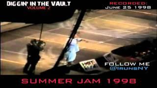 DIGGIN' IN THE VAULT: SUMMER JAM 1998 W/ CAMRON, JIM JONES, NOREAGA AND CHARLI BALTIMORE PT.1