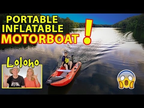 Download Our Scout365 Portable Inflatable Boat Now With
