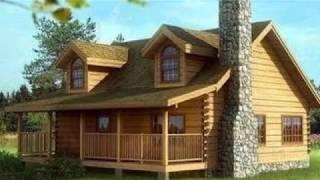 Brand New $22,500 Log House Prefabricated Kit MUST SEE Inside!