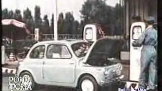 carosello-fiat 500 pubblicità originale