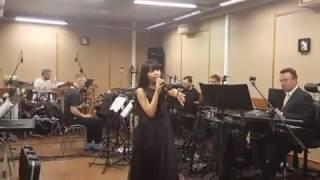 Дениза Хекилаева на репетиции финала #Голосдети4! #маэстро #командамеладзе💗