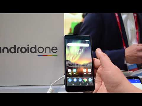 Nokia 6 2018 con Android One, anteprima dal MWC 2018