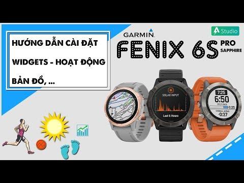 Hướng dẫn sử dụng đồng hồ Garmin Fenix 6 (Phần 1)