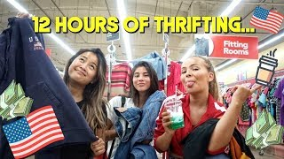 Come Thrift with US! we spent a whole day in the U.S and a whole lotta money $$$