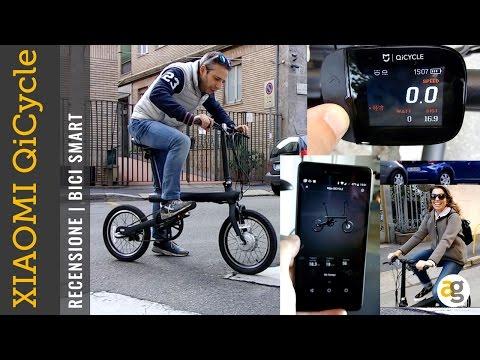 RECENSIONE Bici SMART Xiaomi QiCycle elettrica