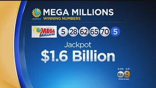 Mega Millions $1.6 Billion Jackpot Winning Numbers Announced