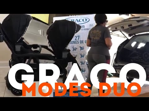 VLOG 2 (3.7.18) | GRACO Modes Duo (Assembly, mini review, can it fit in my car?)