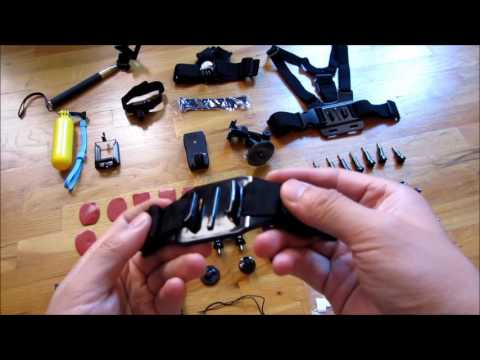 $12 GoPro 40 Piece Accessory Set Review