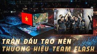 Trận Đấu Lật Kèo Lịch Sử Của Team Flash Đưa Việt Nam Vào Chung Kết AIC 2018