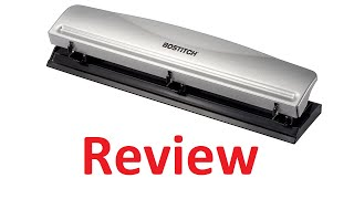 Bostitch HP12 3 Hole Punch Review