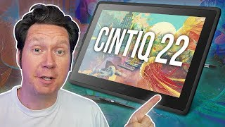 Wacom Cintiq 22 Review - Large Entry-Level Display Tablet