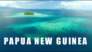 Oceano efervescente em Papua Nova Guiné