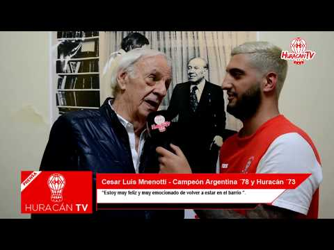 Menotti habló sobre Houseman y la clasificación a la Copa Libertadores