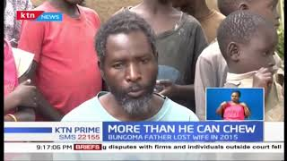 Man in Bungoma asks for help as he struggles to raise 11 children