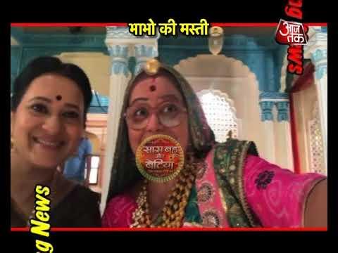 Fun On The Sets Of Tu Sooraj Main Sanjh Piyaji Wit