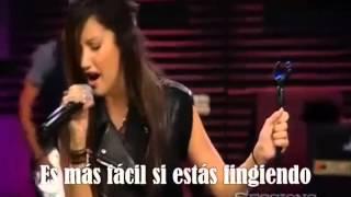 Ashley Tisdale - Tell Me Lies subtitulada en español (live)