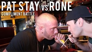 KOTD - Compliment Rap Battle - Pat Stay Vs Rone (Alternate Audio)