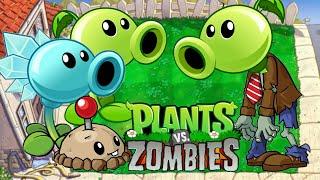 Zombatony Vs Basic Plants   Plants Vs Zombies