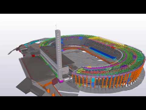Helsinki Olympic Stadium | Tekla