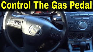 How To Control The Gas Pedal-Beginner Driving Lesson