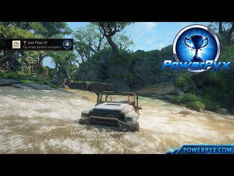 Uncharted 4: A Thief's End - Just Floor It! Trophy Guide (Chapter 17)
