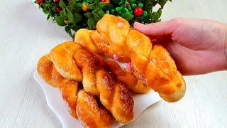 Лакомство К Чаю Все Восторге от этих Пончиков!Tout le monde Aime ces Beignets