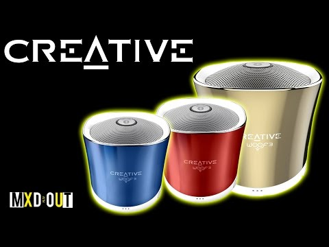 Creative Labs Woof3 Bluetooth Speaker!? | Review