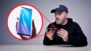 "Unboxing The ""Waterfall"" Smartphone"