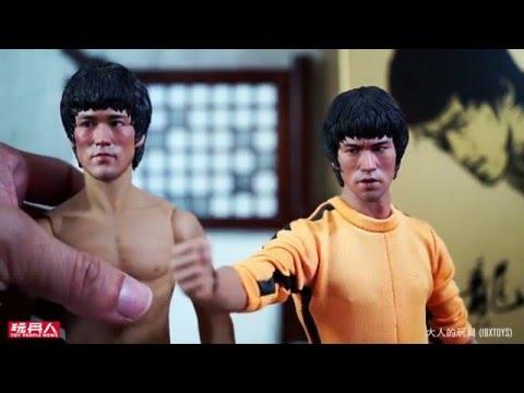 ENTERBAY 10 週年紀念 1/6 比例李小龍Bruce Lee 75周年蠟像級人偶 開箱