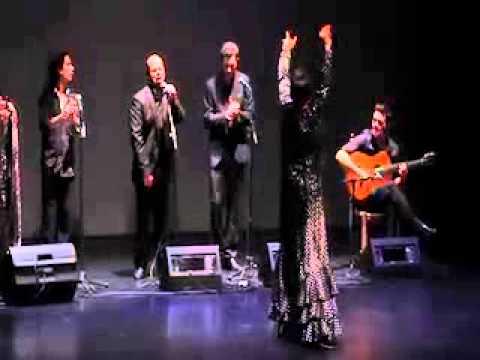 Luisa Chicano y su compañía de flamencos