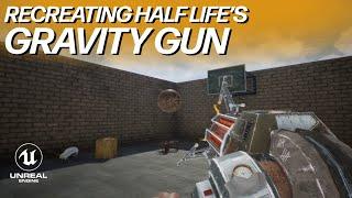 Half Life's Gravity Gun | CobbDev