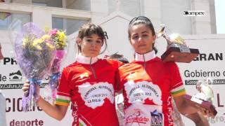 preview picture of video 'PODIOS Copa España de Féminas  Elite Sub 23 y Juveniles, Villamediana de Iregua 29-07-2012'