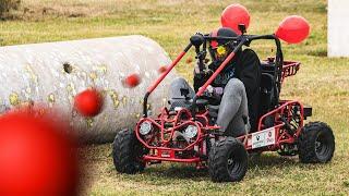 Go Kart Paintball Battle