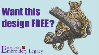 We Need Your Help + Free Embroidery Design?