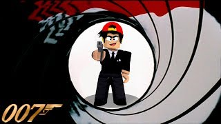 ROBLOX - AGENTS, HOW TO BECOME 007, JAMES BOND!!