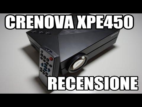 Crenova XPE450 - Mini proiettore, Ottimo per il gaming - RECENSIONE