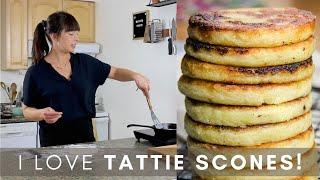 Scottish Potato Scones! (Tattie Scones) 🥔 How To Use Leftover Mashed Potatoes