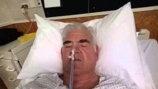 preview picture of video 'Duodenal Cancer Day 2 - Ron E Bishop timaru NZ'