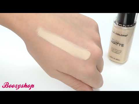 LA Colors LA Colors Truly Matte Foundation Natural