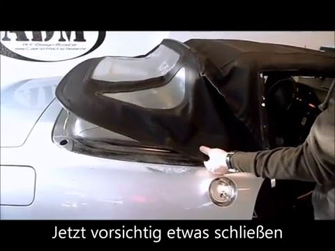 Mercedes SL R129 Spannseil tauschen Reparieren