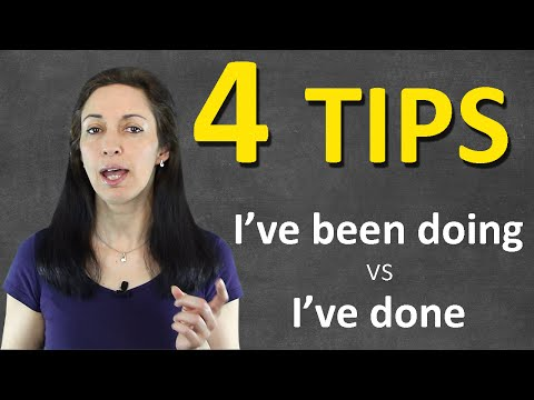 4 BIGGEST tips on Present Perfect Continuous