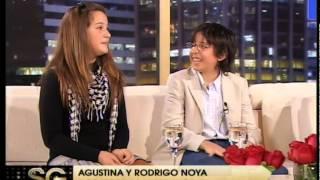Celos de hermanos: Rodrigo y Agustina Noya - Susana Gimenez 2008