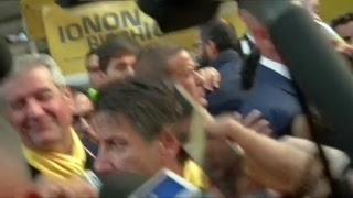 #Iononrischio, punto stampa del Presidente Conte a Bologna