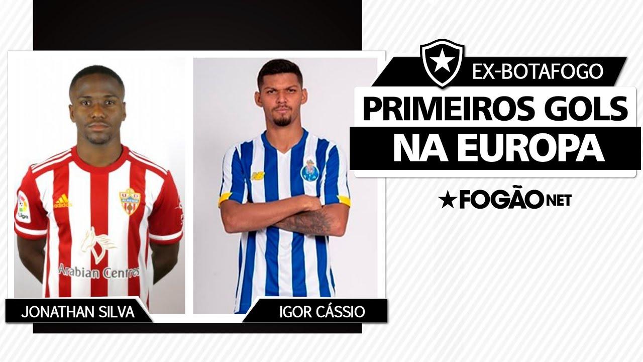 Jonathan e Igor Cássio, ex-Botafogo, fazem seus primeiros gols na Europa. Veja vídeo!